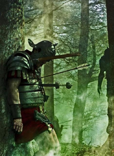 Neprostupný les přinese smrt nejednomu Římanovi.