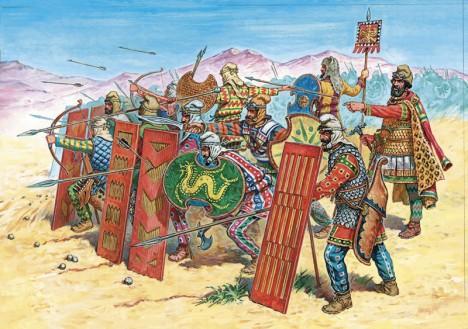 Nesmrtelní zaniknou po dobytí Persie vojsky Alexandra Makedonskéhov roce 330 př. n. l.