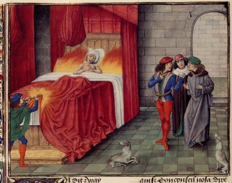 O Karlově děsivém konci se vyprávějí legendy po celé Evropě.