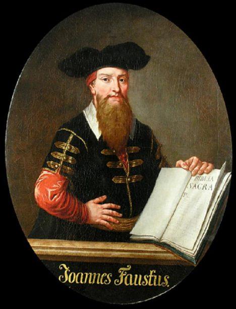 Předlohou pro postavu Fausta se stal německý lékař Georgius Faustus Sabellicus.