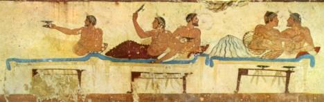 Při řeckých společenských setkáních platí, že jde především o pohodlí všech účastníků.