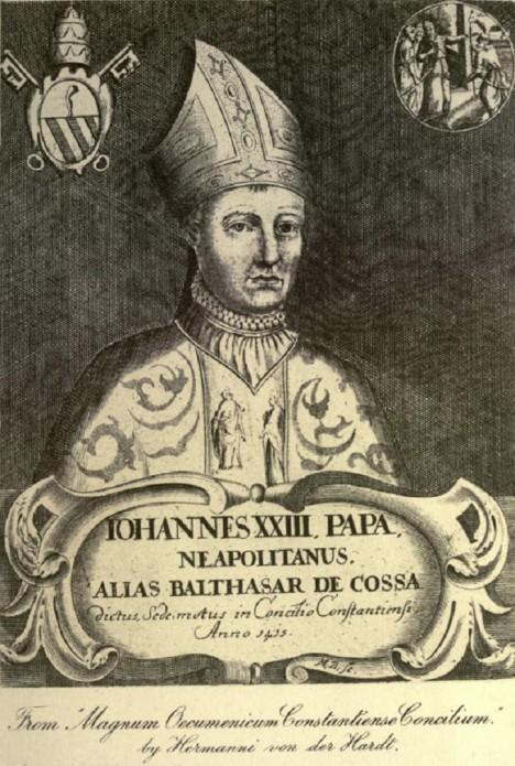 Papež Jan XXIII. se v mládí živil dokonce i jako pirát. S Mediceji ho pojí přátelství.