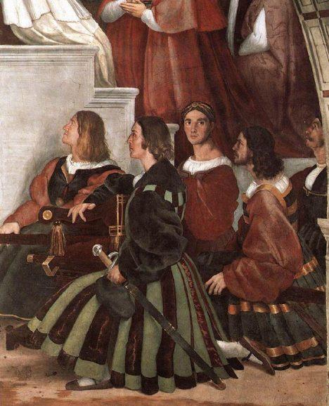 Papežskou stráž tvoří švýcarští gardisté, kteří se proslaví statečností a taktikou.
