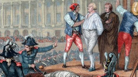 Poslední chvíle života francouzského krále Ludvíka XVI. Čeká ho smrt po gilotinou.