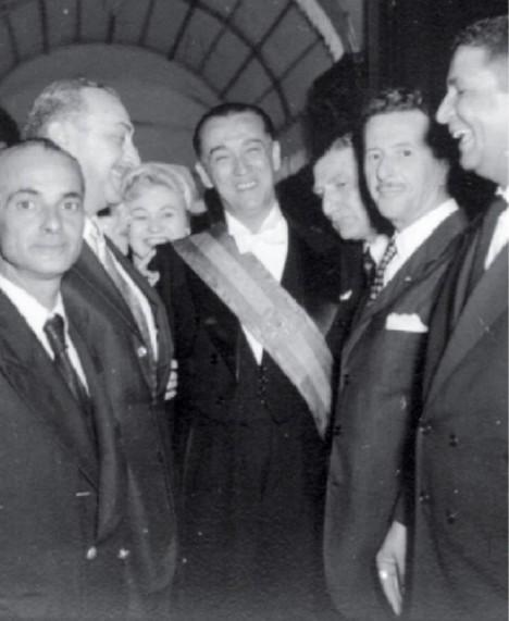 Prezidentská inaugurace v roce 1956. Juscelino Kubitschek ve funkci zůstává až do roku 1961.