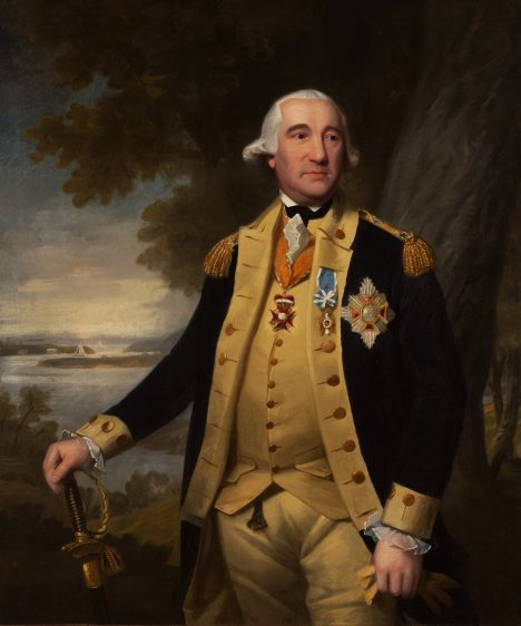 Pruský armádní důstojník Friedrich Wilhelm Augustus, baron von Steuben jako Němec, bojuje v americké válce za nezávislost. Slouží jako Washingtonův inspektor.