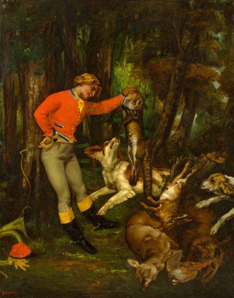 Rakouský panovník miluje lovecké výjevy. Moderní malířství mu ale nic neříká.
