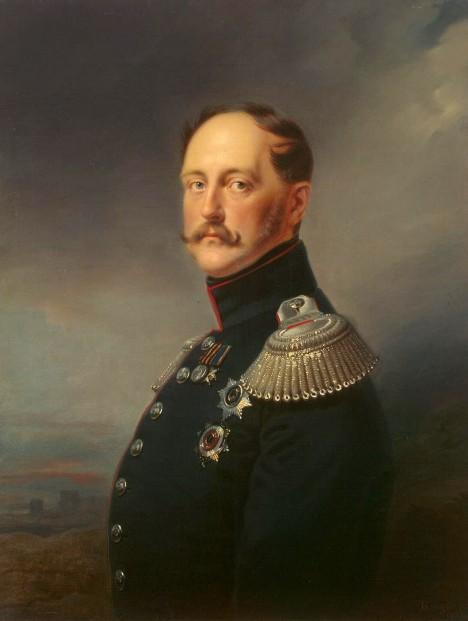 Ruský car Mikuláš I. dostane drahokam jako omluvu za to, že Peršané zabili ruského vyslance.