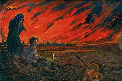 Ruskou metropoli Moskvu postihne několikrát v dějinách požár.