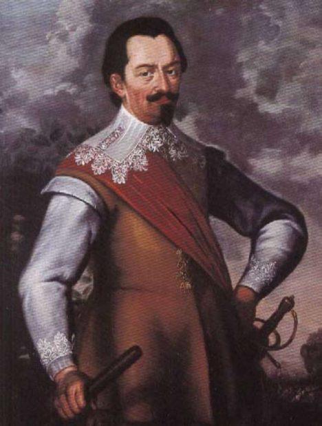 Sasy vyžene z Prahy Albrecht z Valdštejna.