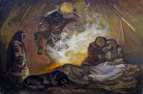 V jeskyni dřív prý přebýval zlý šaman a poustevník.