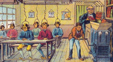 Stačí si nasadit sluchátka a vědomosti natečou dětem do hlavy.