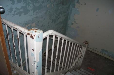 Na schodišti v sanatoriu byly prý spatřeny podivné stíny.