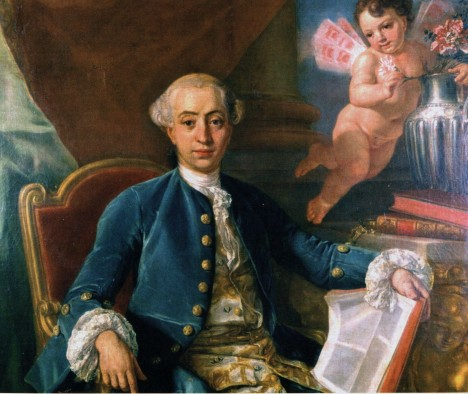 Svůdník Giacomo Casanova nechce, aby jeho partnerky přivedly na svět nechtěné dítě.
