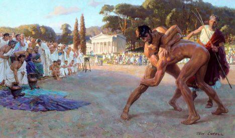 Tradici sledovaných olympijských zápasů navždy pohřbí vodní živel.