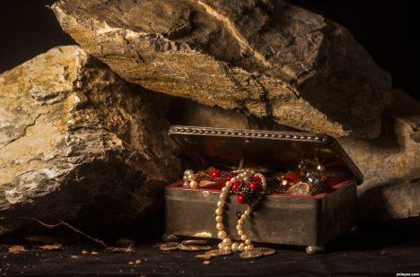 Ukrývá se kdesi pod hradem velký poklad?
