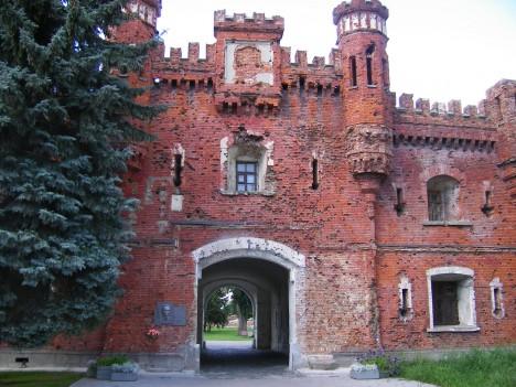 Tvrz je postavena v 19. století na příkaz ruského cara Mikuláše I.