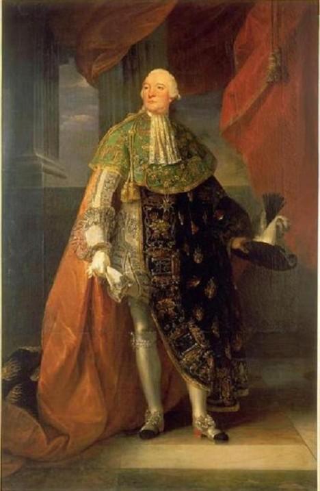 Vévoda Ludvík Filip II. Orleánský se potýká s velkými dluhy.