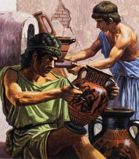 Vědci se domnívají, že Číňanům mohli pomáhat umělci z antického Řecka.