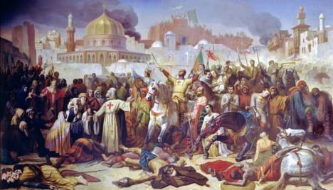 V červnu 1099 dospějí křížáci k hradbám Jeruzaléma a město úspěšně dobudou.