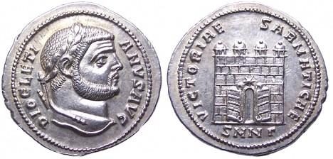 V době panování Diokleciána hodnota peněz nenávratně klesá.