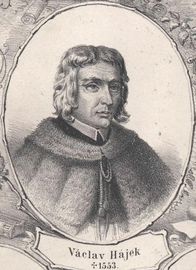 Kronikář Václav Hájek z Libočan si zákaz vstupu žen na hrad vymyslel.