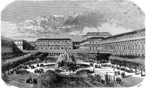 Ve francouzské Palais Royal vzniká v 19. století věhlasná restaurace.