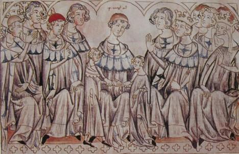 Ve sjednaném sňatku Jana Lucemburského s Eliškou Přemyslovnou má také prsty královský rádce.