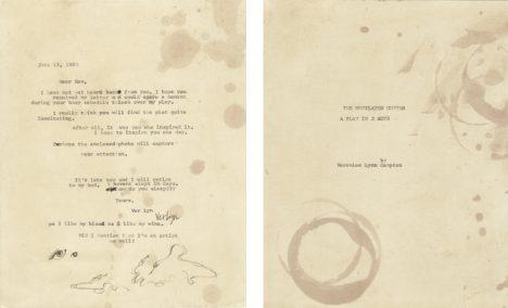 Dopis Bianchimu do vazby.