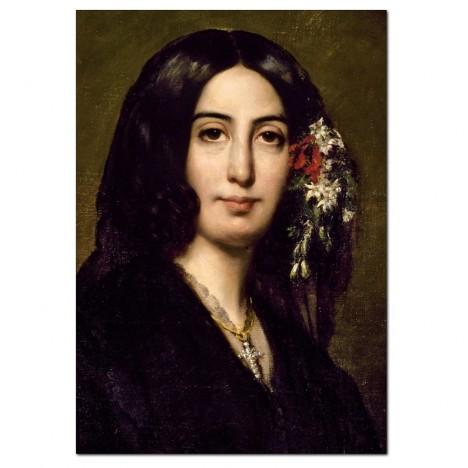 Vzorem české spisovatelky se stává její francouzská kolegyně George Sandová.