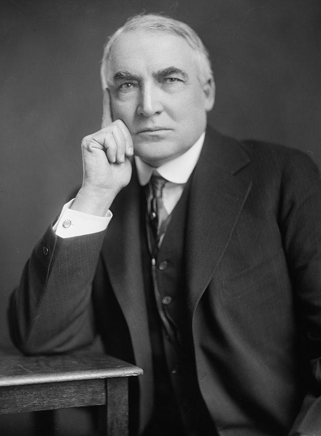 """Harding """"vynikl"""" svými obchody s blízkými přáteli."""