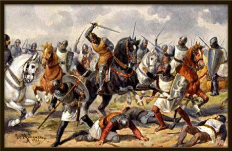 Za pomoc v bitvě u Milána v roce 1158 získává český kníže Vladislav II. titul českého krále jako Vladislav I.