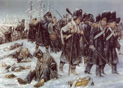 Zničená Napoleonova armáda se v roce 1812 vrací z ruského tažení. Mezi vojáky nechybí ani Napoleonův kuchař.