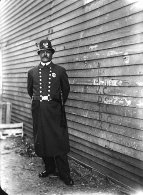 africký policista