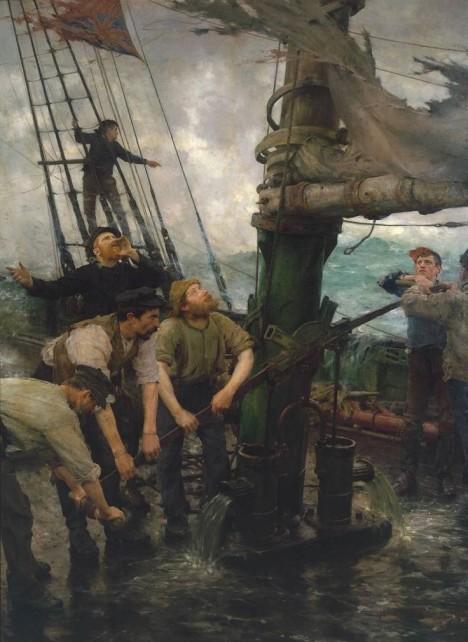 Námořníci bojují nejenom s nepřízní počasí, ale i nemocemi. Univerzálním lékem na všechno je rum.