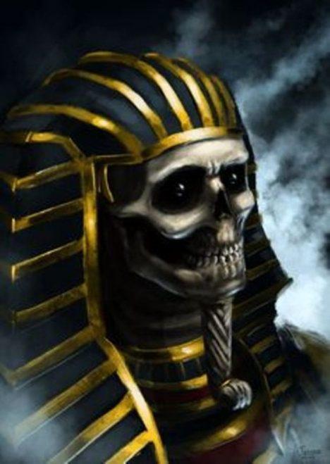 děsivý faraon