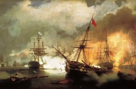 Loď se potopila již s jiným vlastníkem během bitvy.