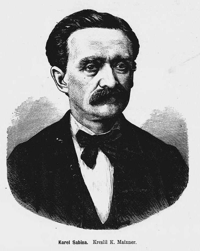 Karel Sabina (1871)
