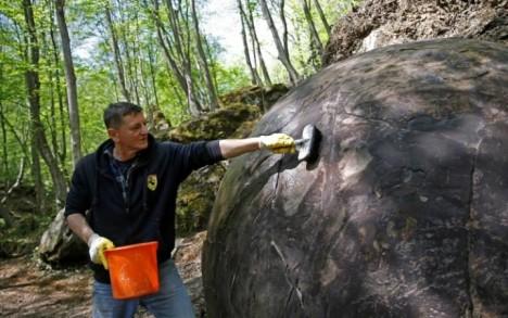 Podivný nález nedávno nahlásil z Bosny a Hercegoviny amatérský archeolog Semir Osmanagič.