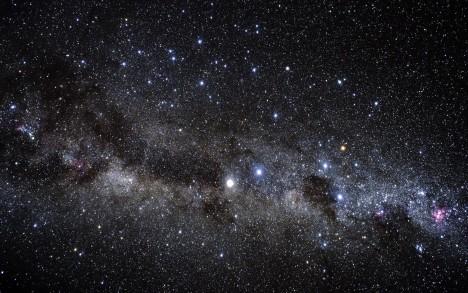 Vesmír.