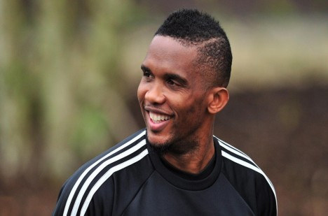 Fotbalista Samuel Eto´o