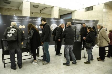 Otevření výstavy pro veřejnost.