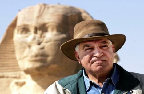 Archeolog Zahi Hawass.