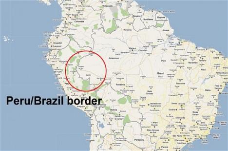 Pohraničí Brazílie a Peru je domovem pro zhruba 15 tisíc izolovaných domorodců.