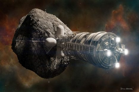 Asteroid by mohla odklonit speciálně vyvinutá loď.