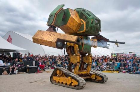 Americký MegaBot je dílem několika nadšenců, kteří se rozhodli přenést fantazie z filmového plátna do reality.