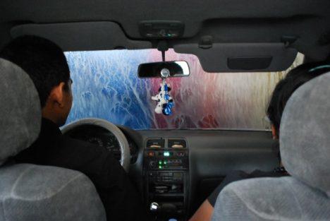 nazar v autě