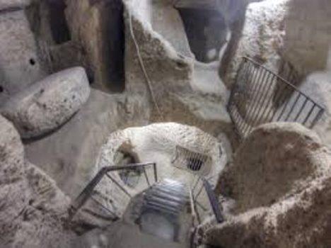 podzemní města