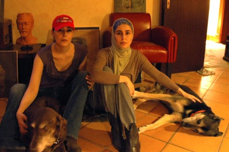 Princesses daughters of King Abdullah of Sauda Arabia, taken on March 23, 2014. Sahar is the oldest of the four, she's the one with head cover. Red hat is Princess Jawaher. They're confined to their rooms and looking too thin. http://nypost.com