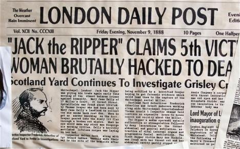 O obětech živě informovaly i tehdejší noviny.